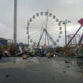 25 Shocking Before and After Photos Of Hurricane Sandy'sDestruction