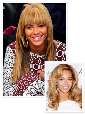 Beyoncé Gets Bangs!
