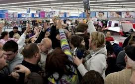 Walmart Black Friday Fighting Over Phones During 2012