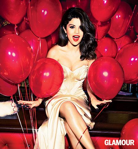 glamour magazine selena gomez cover beautu