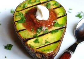 grilled avocado health and diet recipe