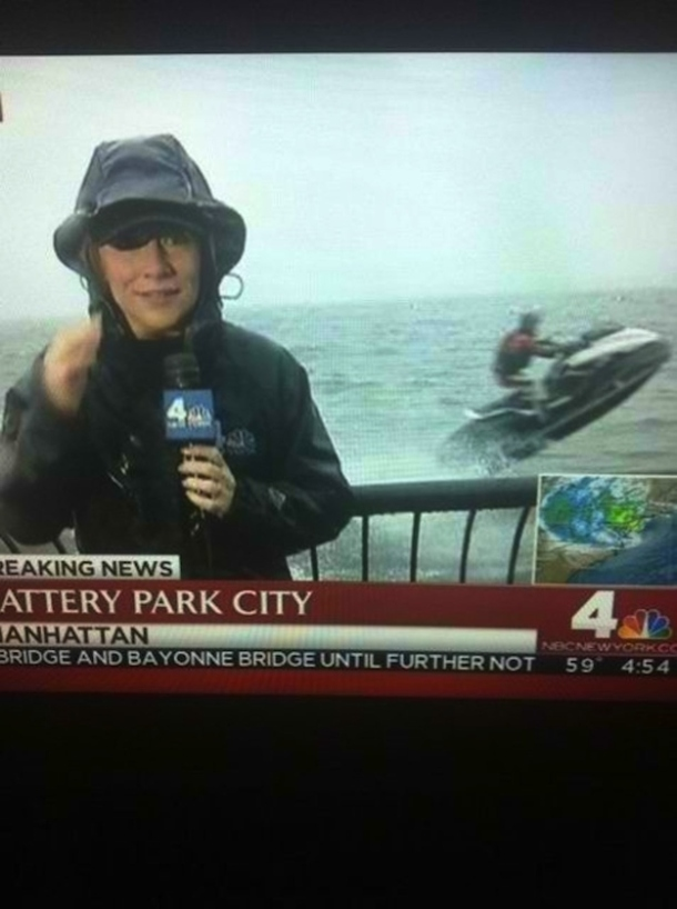 new york hurricane sandy having fun