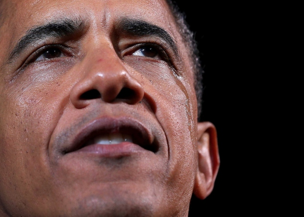 obama last campaign crying wept