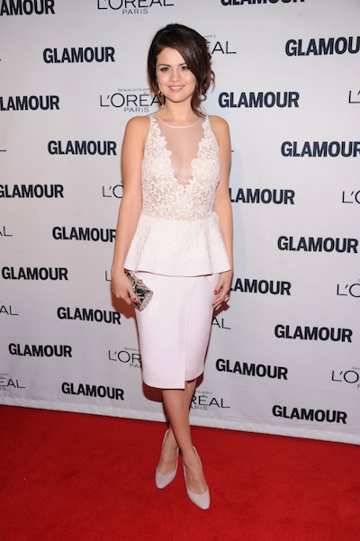 glamour magazine honors tthe 22nd annual women of the year red carpet show