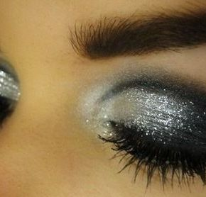 New Years Eve Glitter Makeup Tutorial