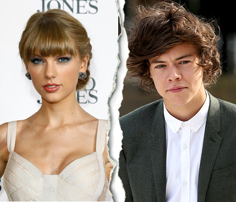 taylor swift harry styles brake up